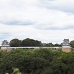 明石城|本丸から突き出る2つの「角」、巽櫓と坤櫓(兵庫名所巡り)