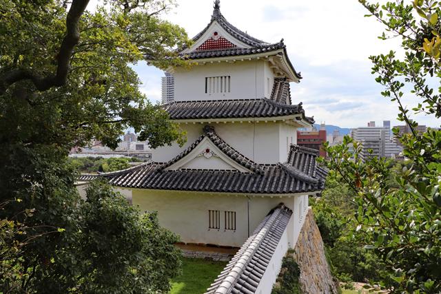 明石城天守台から坤櫓