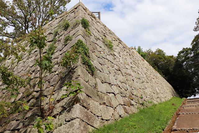 明石城・東の丸石垣