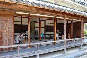 赤穂大石神社・長屋門の一室