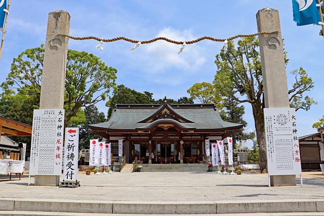 赤穂大石神社・拝殿