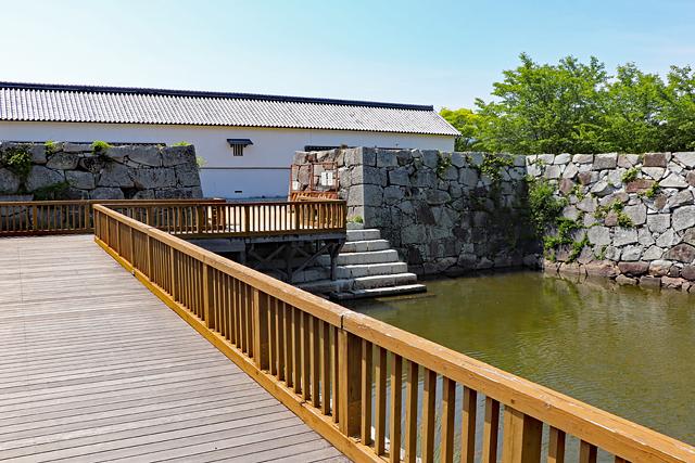 赤穂城・二之丸南端の水手門