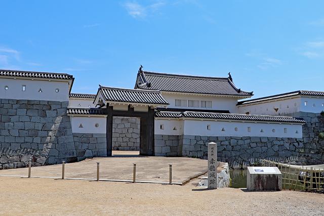 赤穂城・本丸門