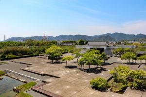 赤穂城・天守台からの眺望