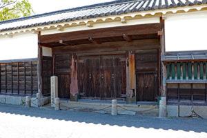 赤穂城内・大石邸跡