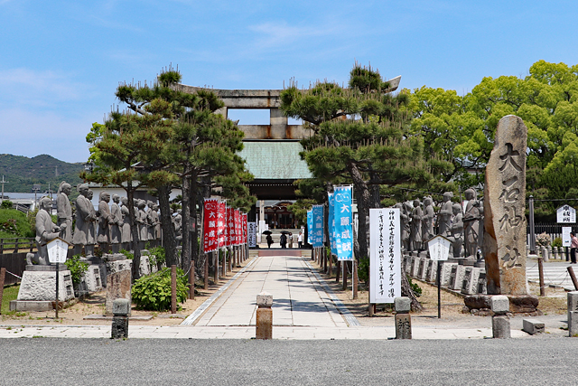 赤穂城内・赤穂大石神社