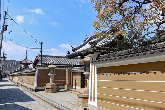 寺町の風景