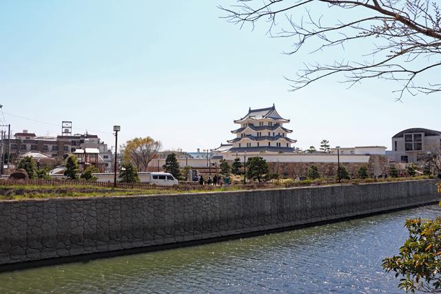 尼崎城遠景