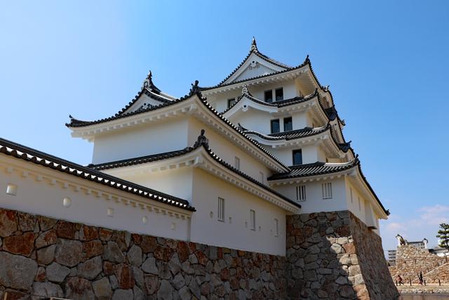 尼崎城天守と付櫓