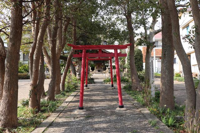 安徳宮参道