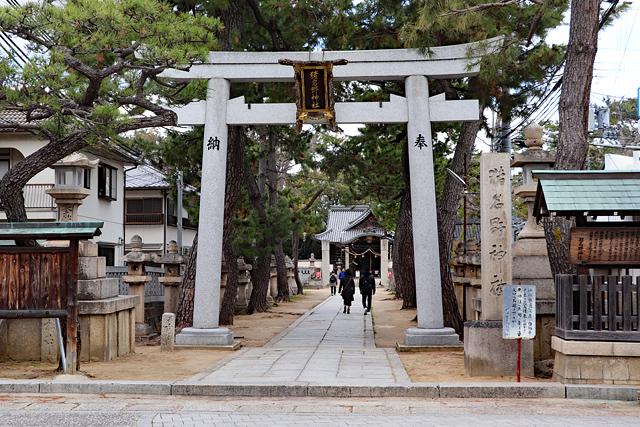 猪名野神社(有岡城・岸の砦跡)