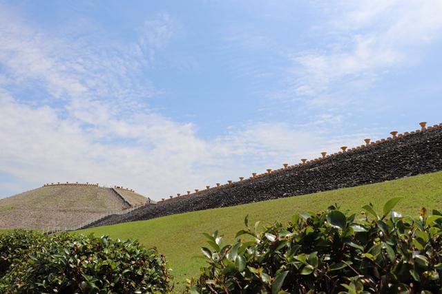 五色塚古墳の外観