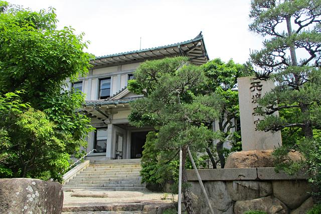 白鶴美術館風景