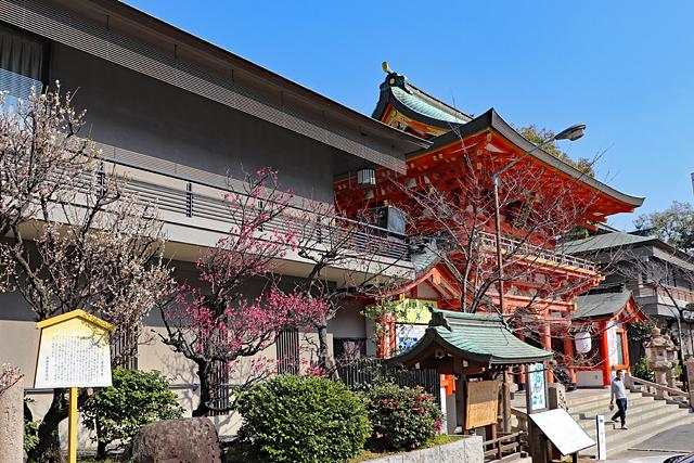 生田神社・箙の梅