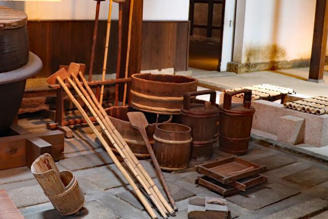 昔の酒造用具