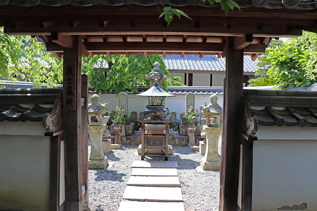 花岳寺・義士墓所