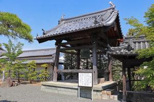 花岳寺・鐘楼(鳴らずの鐘)