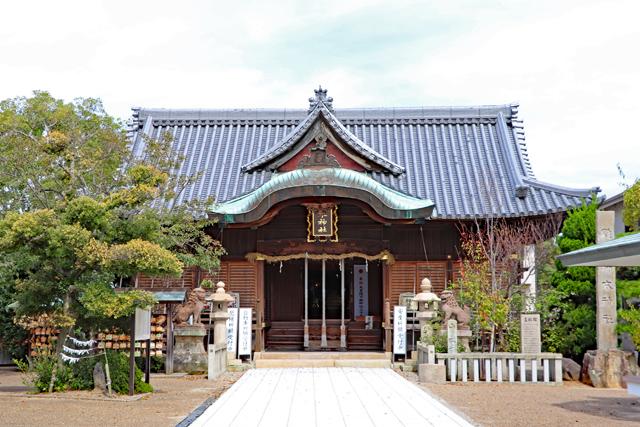 柿本神社拝殿