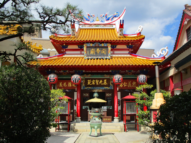 関帝廟・本堂