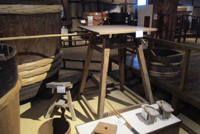 菊正宗酒造記念館・酒造展示室(うどんや・かえる)