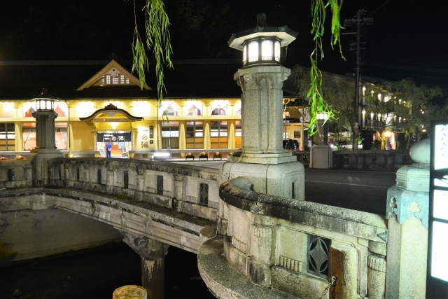 城崎温泉・夜の外湯めぐり