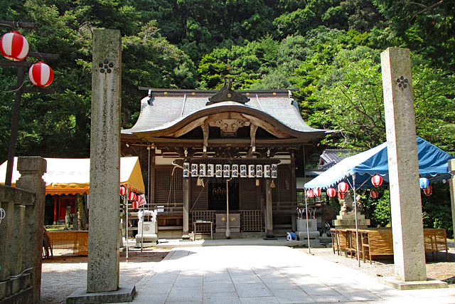 城崎温泉・四所神社