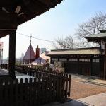 北野天満神社|洋館に囲まれた和の社と恋愛成就の叶い鯉(兵庫名所巡り)