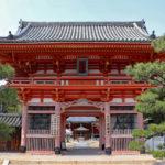 昆陽寺|朱塗りの山門が目印、行基ゆかりの伊丹の古刹(兵庫名所巡り)