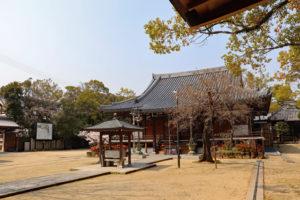 昆陽寺境内風景