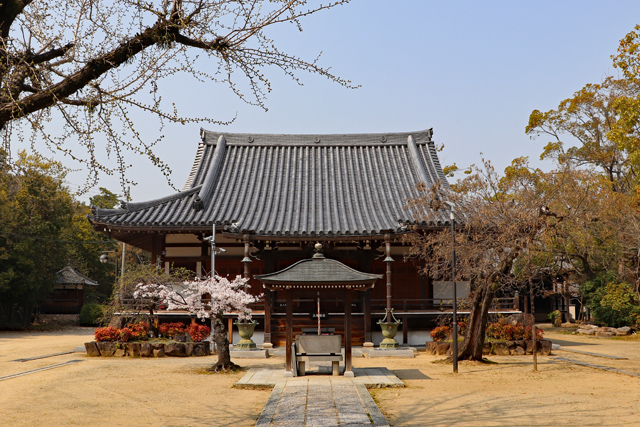 昆陽寺本堂(薬師堂)
