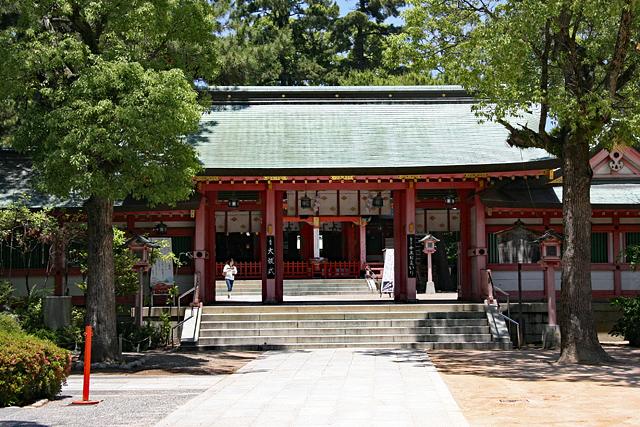 長田神社神門