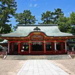 長田神社拝殿