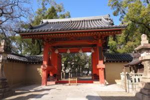 西宮神社表大門(赤門)