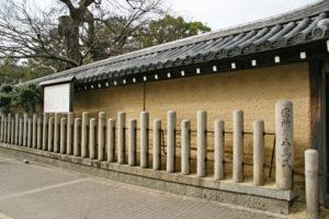 西宮神社大練塀