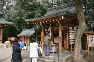 西宮神社摂社・百太夫神社