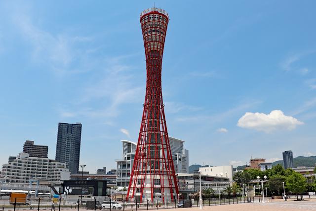 神戸ポートタワー近景