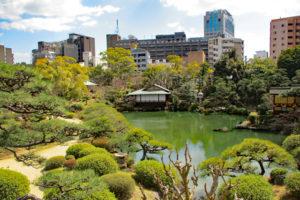 相楽園・日本庭園