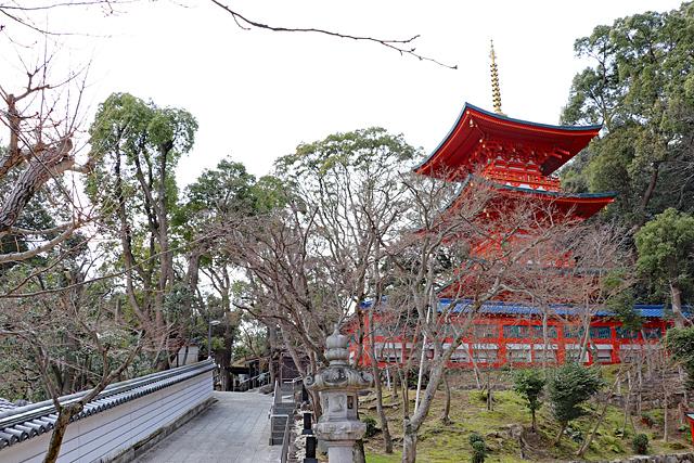 須磨寺・三重塔