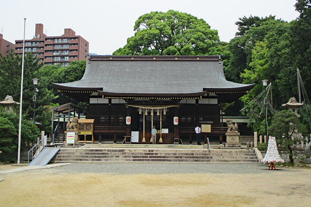 弓弦羽神社拝殿