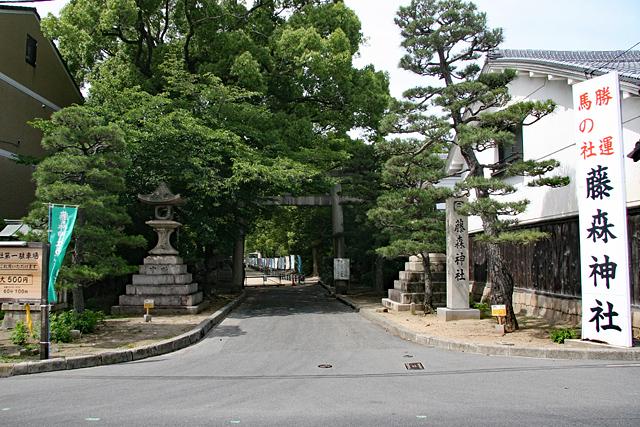 勝運と馬の社・藤森神社