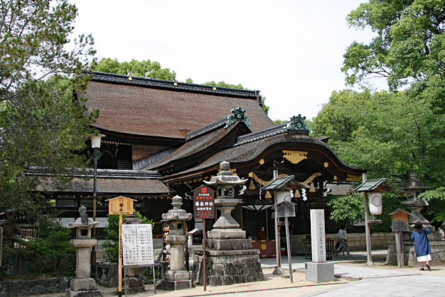 藤森神社・神々を祀る本殿