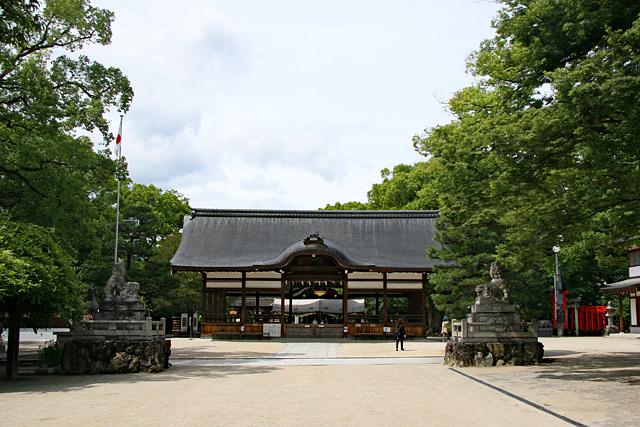 藤森神社拝殿
