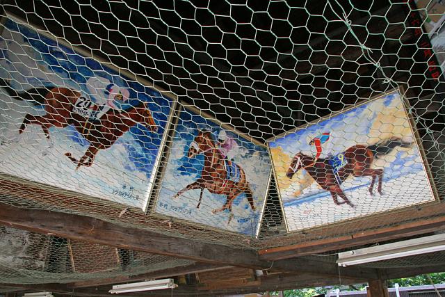 藤森神社絵馬舎