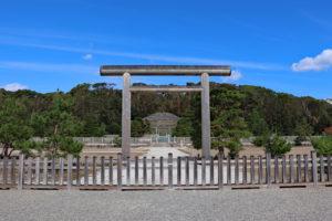 伏見桃山陵(明治天皇陵)