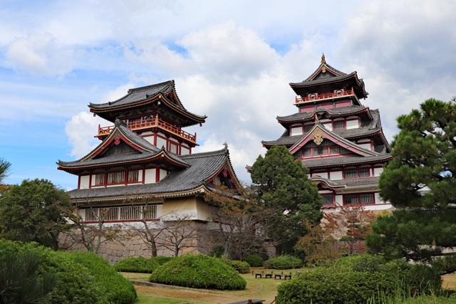 伏見桃山城(模擬天守)