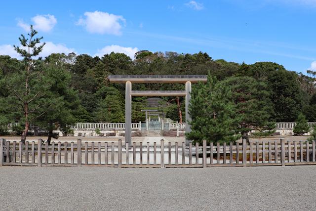 伏見桃山東陵(昭憲皇太后陵)