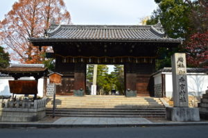 御香宮神社表門