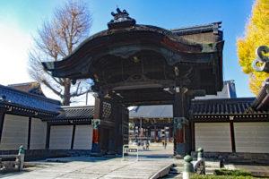 東本願寺阿弥陀堂門