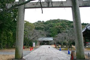 豊国廟入口
