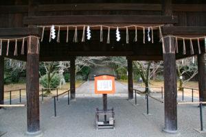 豊国廟拝殿